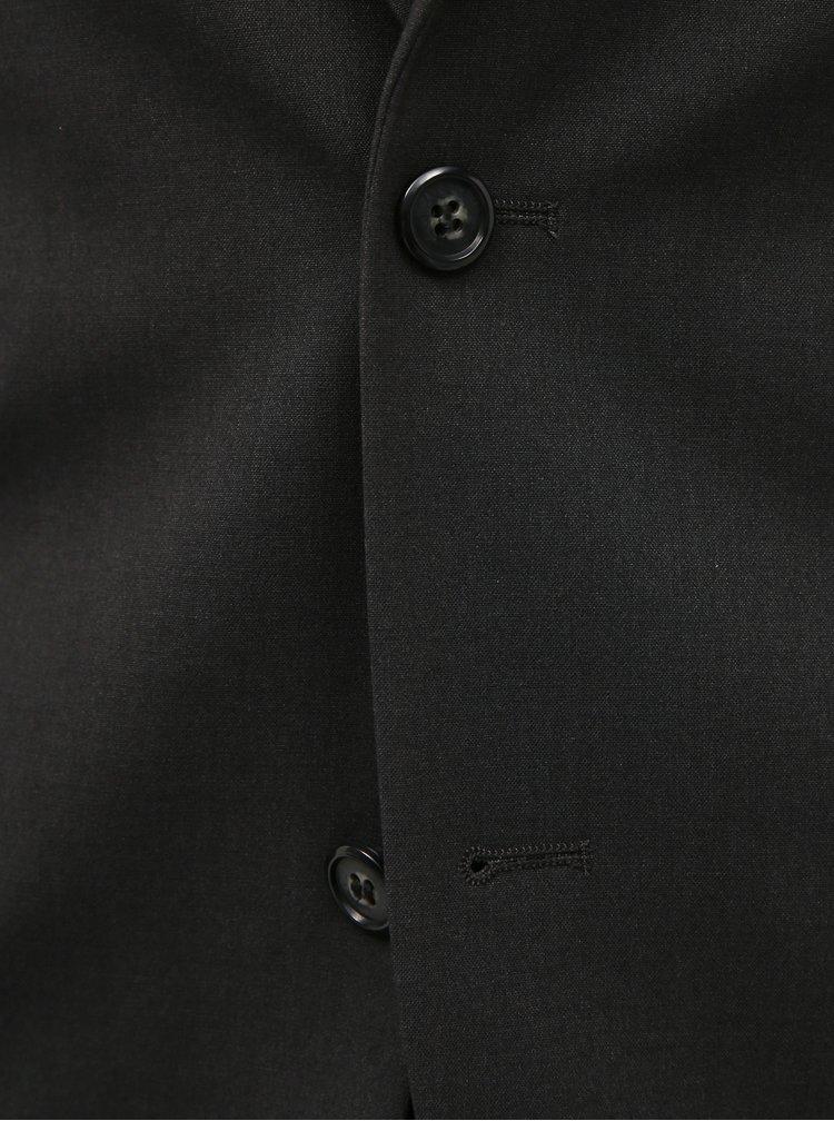 Tmavě šedý oblek Lindbergh