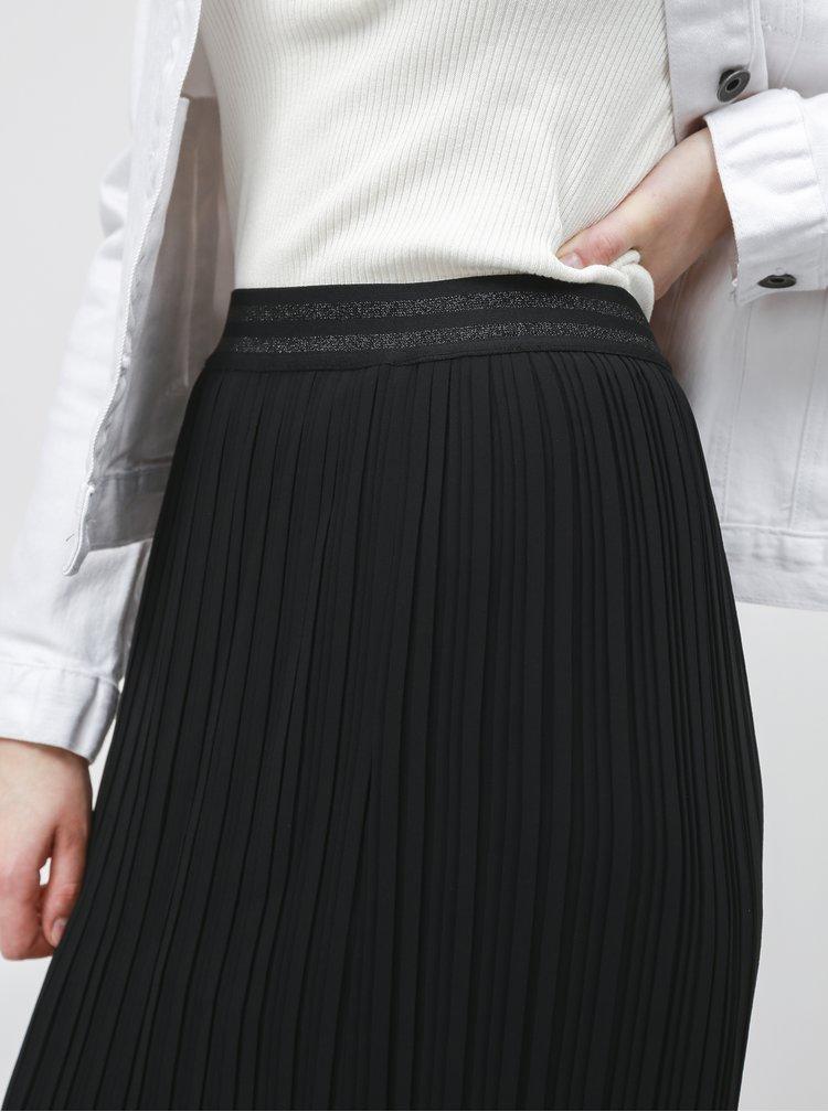 Černá plisovaná sukně ZOOT Marghareta