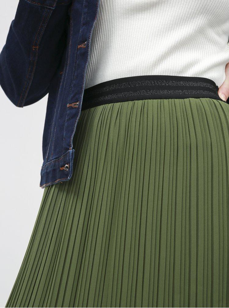 Zelená plisovaná sukňa ZOOT Marghareta