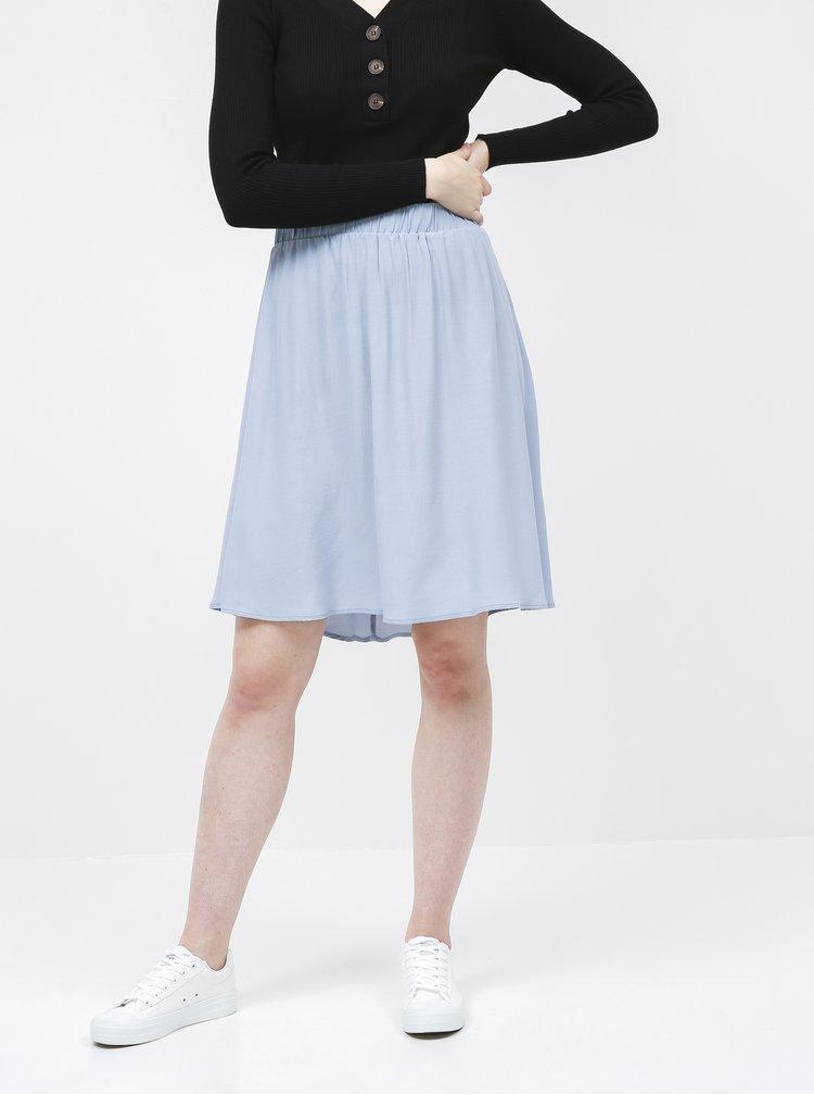 Světle modrá sukně VILA Primera