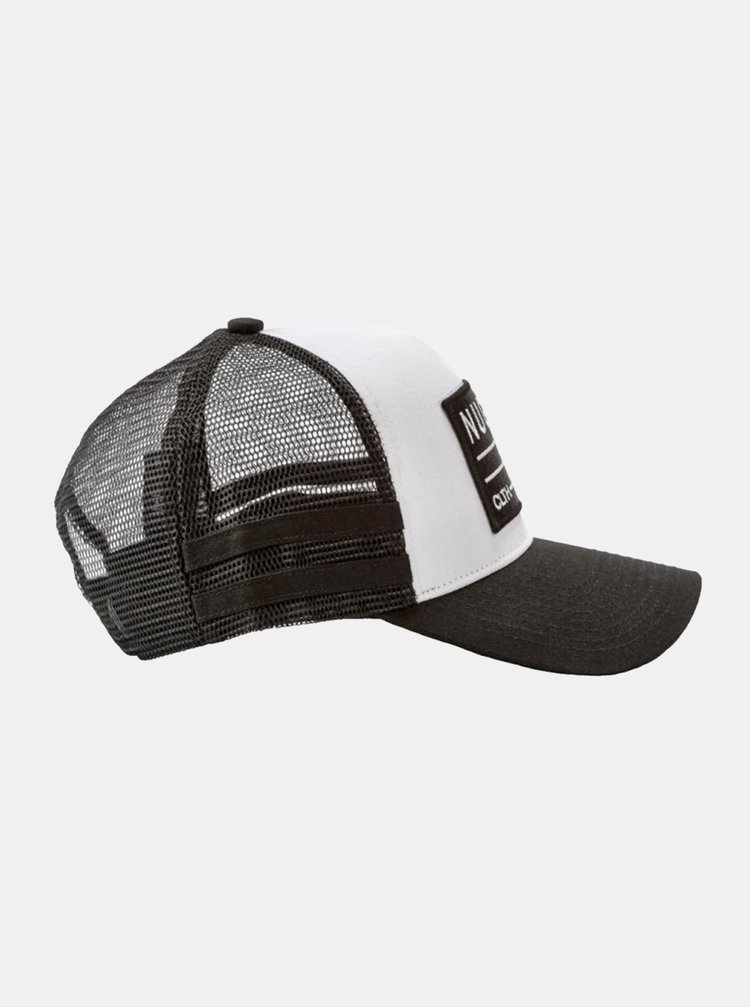 Černo-bílá pánská kšiltovka NUGGET Slope