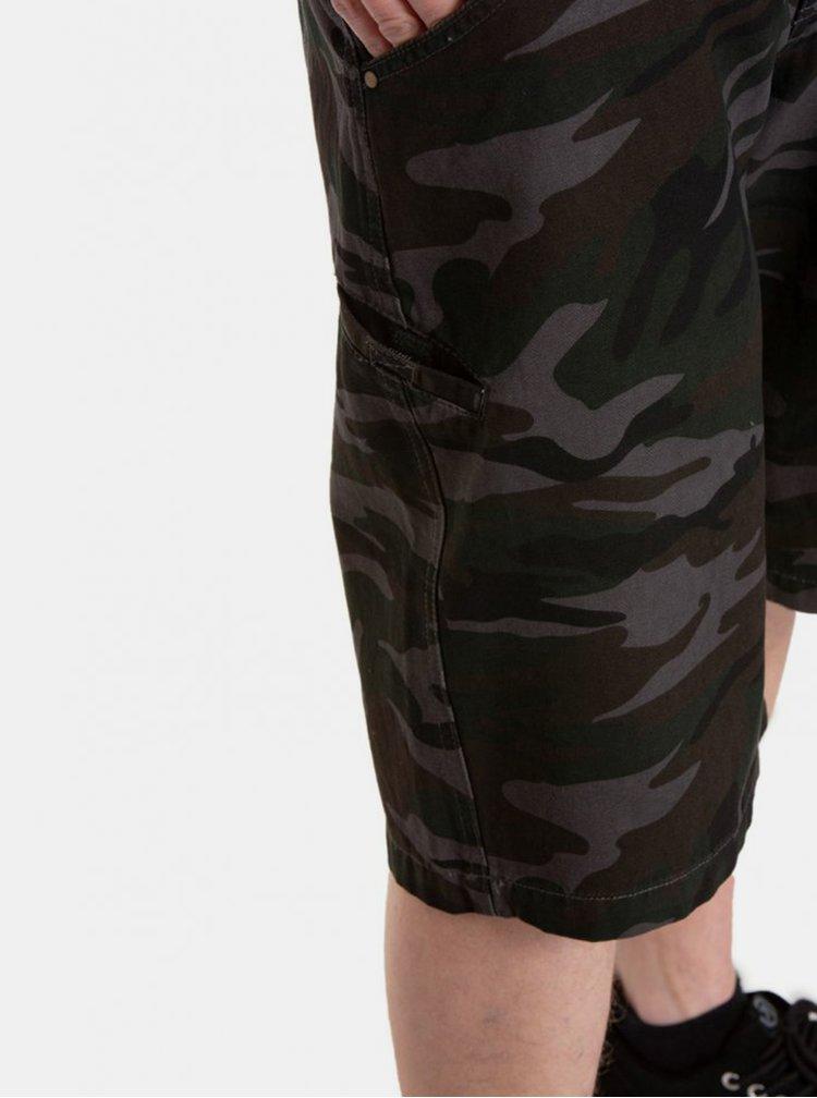 Pantaloni scurti pentru barbati MEATFLY - gri inchis