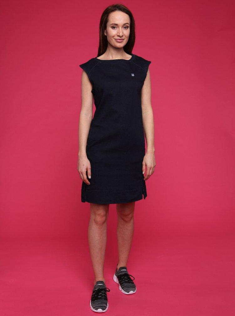 Tmavě modré dámské šaty LOAP Dali