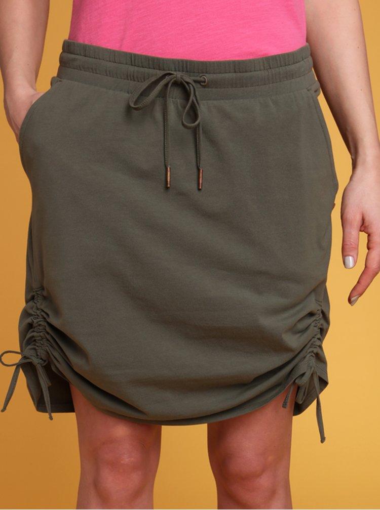Tmavě zelená sukně LOAP Nataly