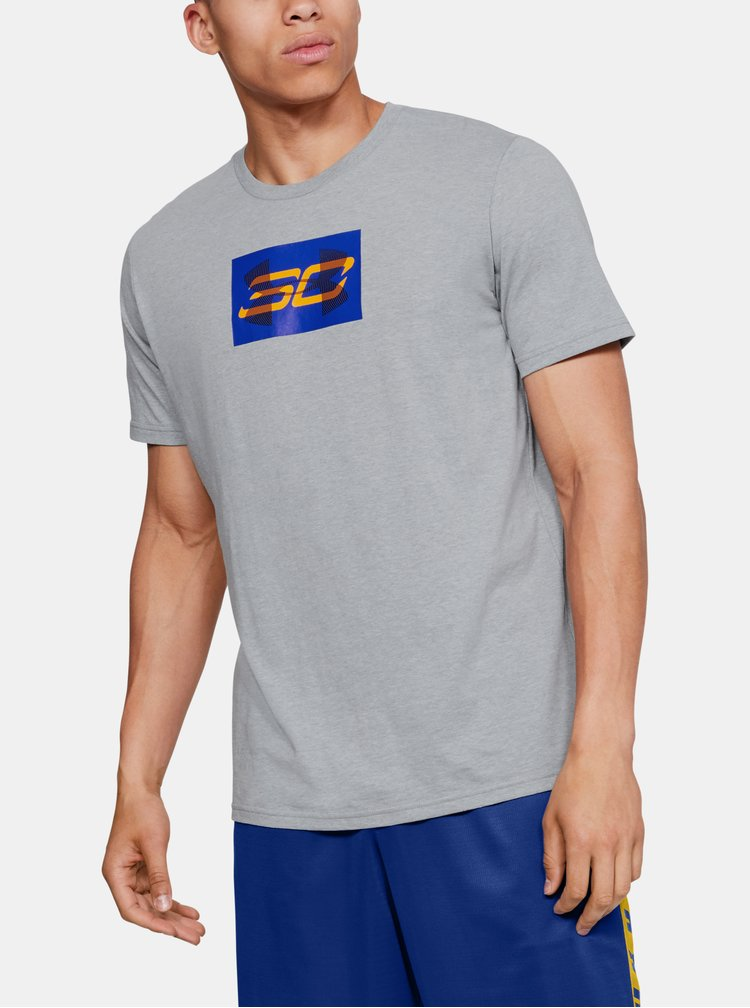 Šedé pánské tričko Overlay Under Armour