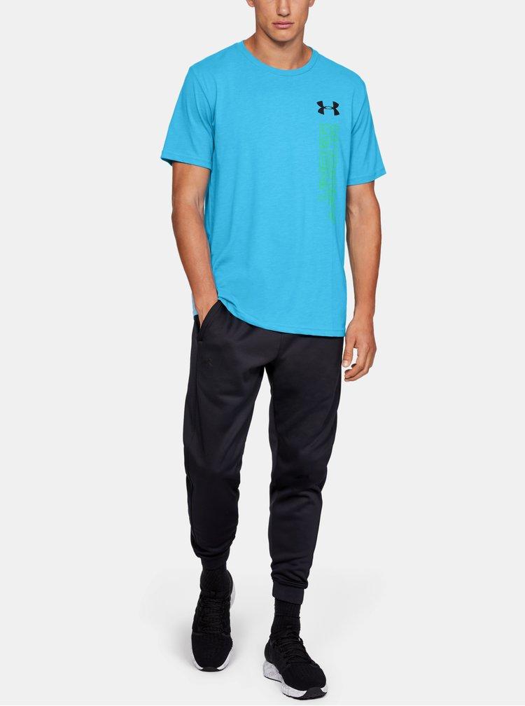 Modré pánské tričko Essentials Under Armour