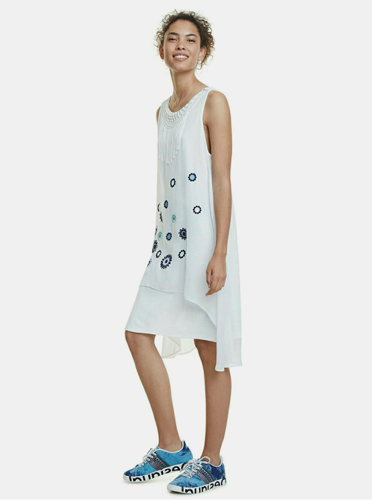 Bílé šaty Desigual