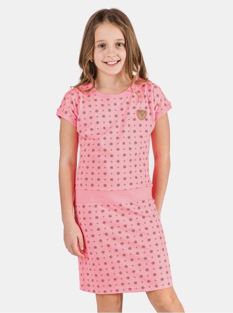 Růžové holčičí šaty SAM 73