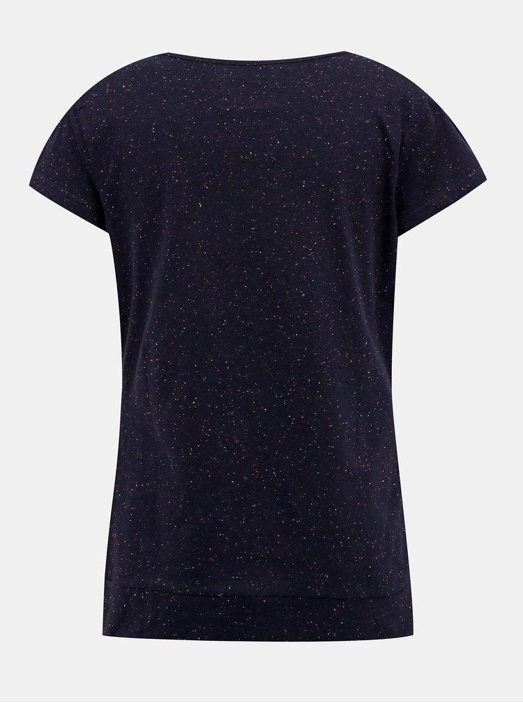 Tmavě modré dámské tričko LOAP Buja