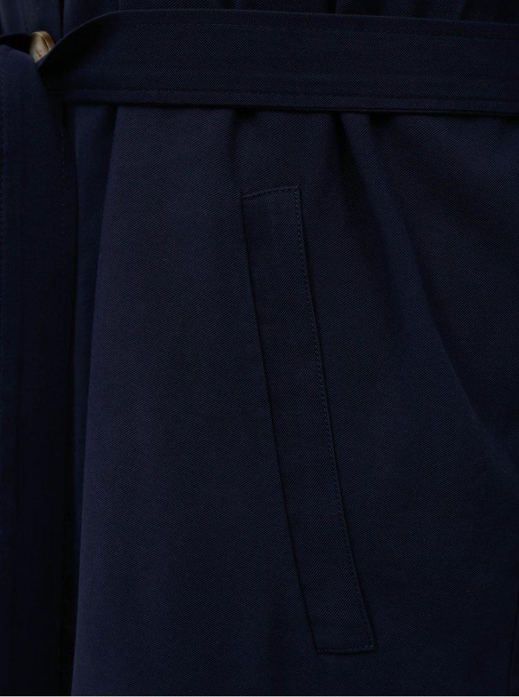 Tmavě modrý dámský trenčkot My True Me Tom Tailor