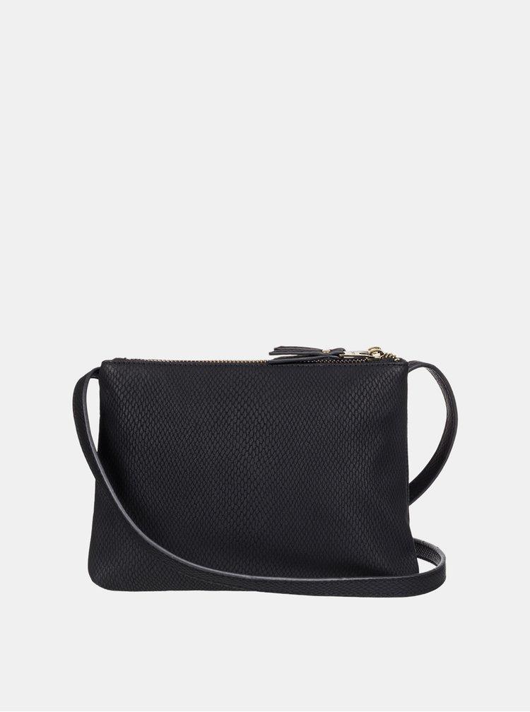 Čierna crossbody kabelka Roxy
