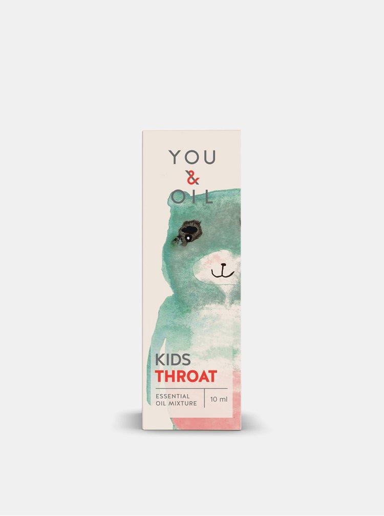 Směs esenciálních olejů KIDS Bolest v krku 10 ml You & Oil