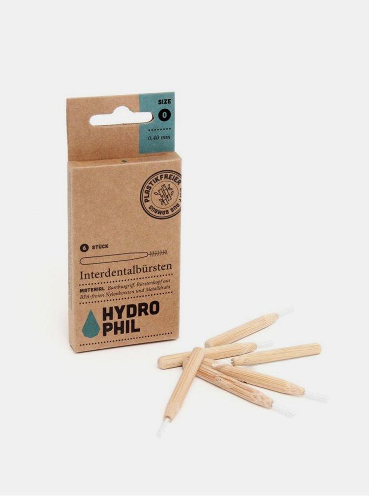 Bambusový mezizubní kartáček - 0,40 mm 6 ks Hydrophil