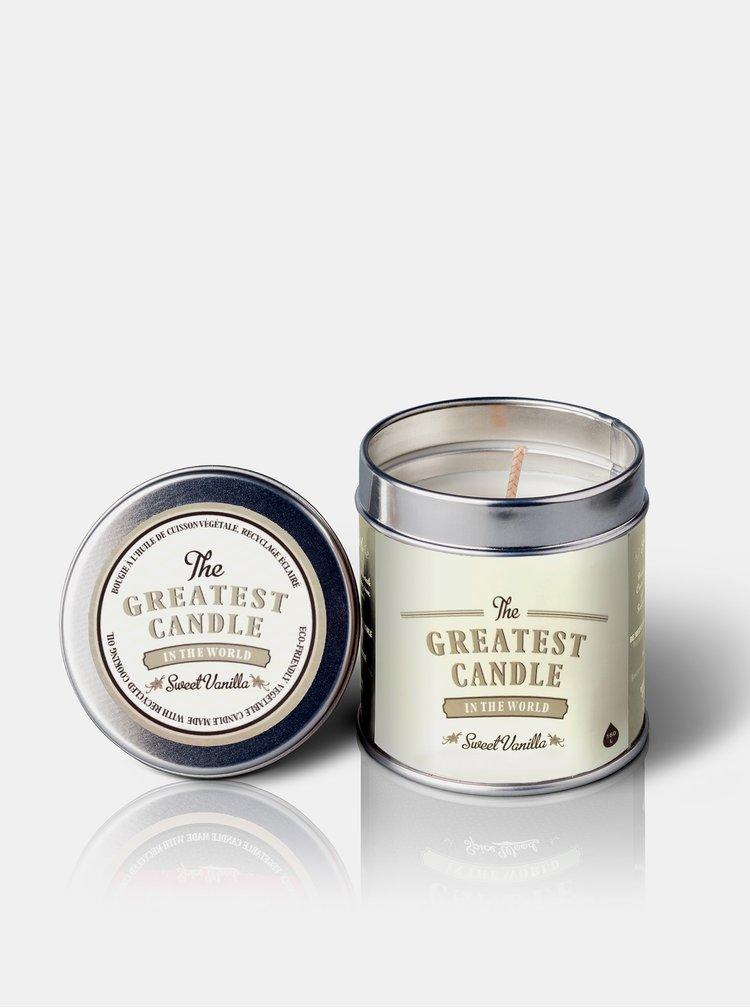 Vonná svíčka v plechovce - sladká vanilka 200 g The Greatest Candle In The World