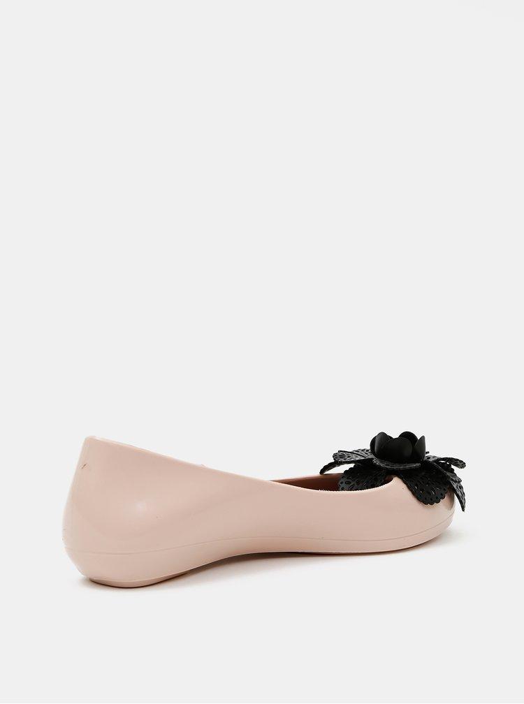 Béžové dámské baleríny Zaxy
