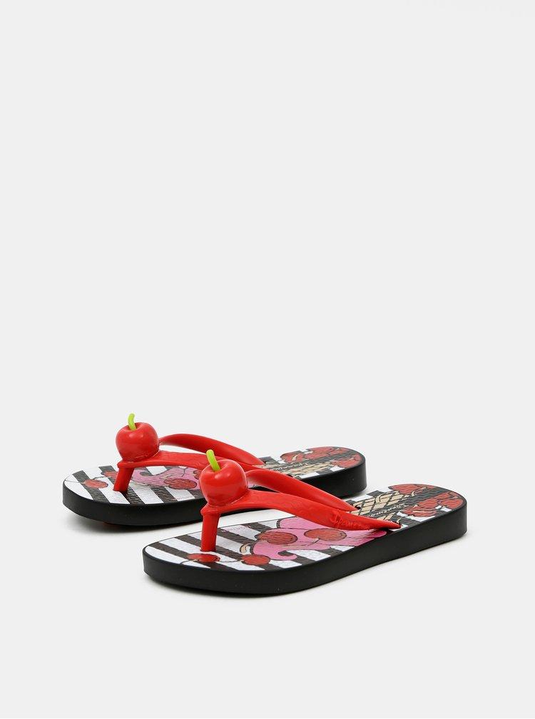Červené holčičí žabky Ipanema