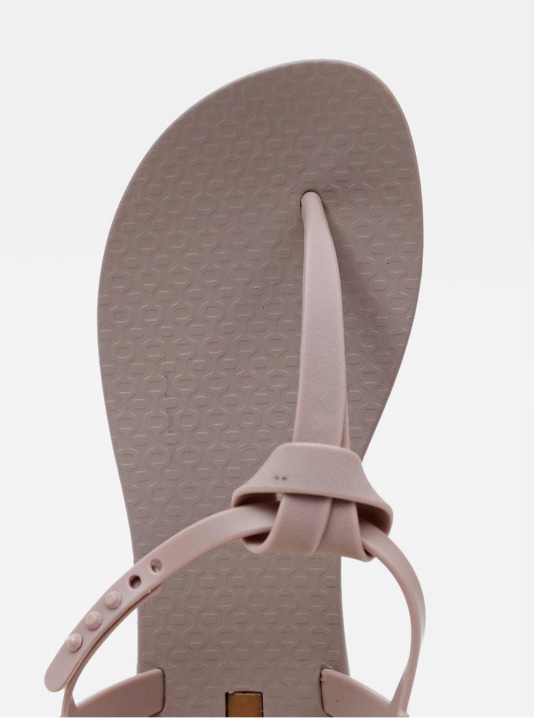 Béžové dámské sandály Ipanema