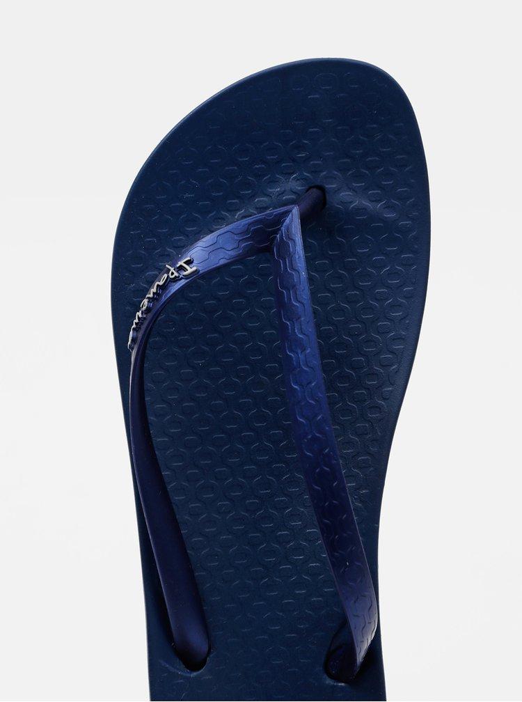 Tmavě modré dámské žabky Ipanema