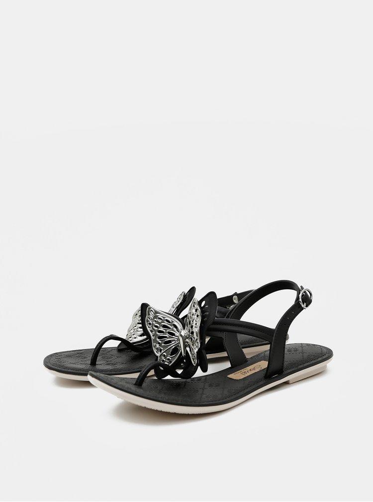 Černé dámské sandály Grendha