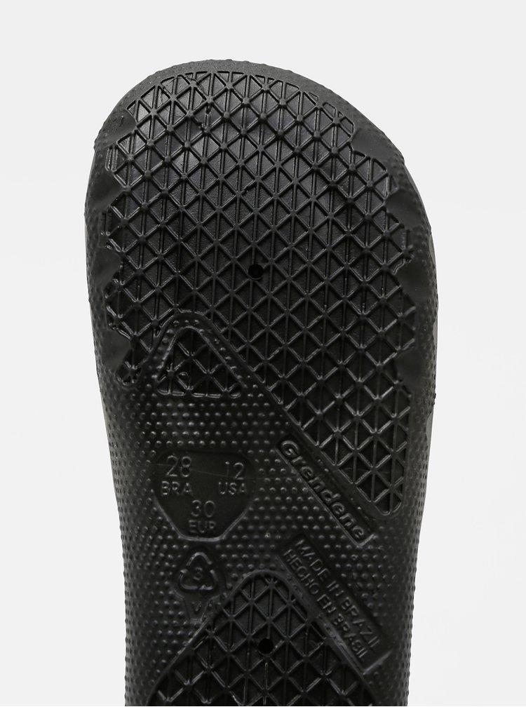 Černé klučičí pantofle Rider