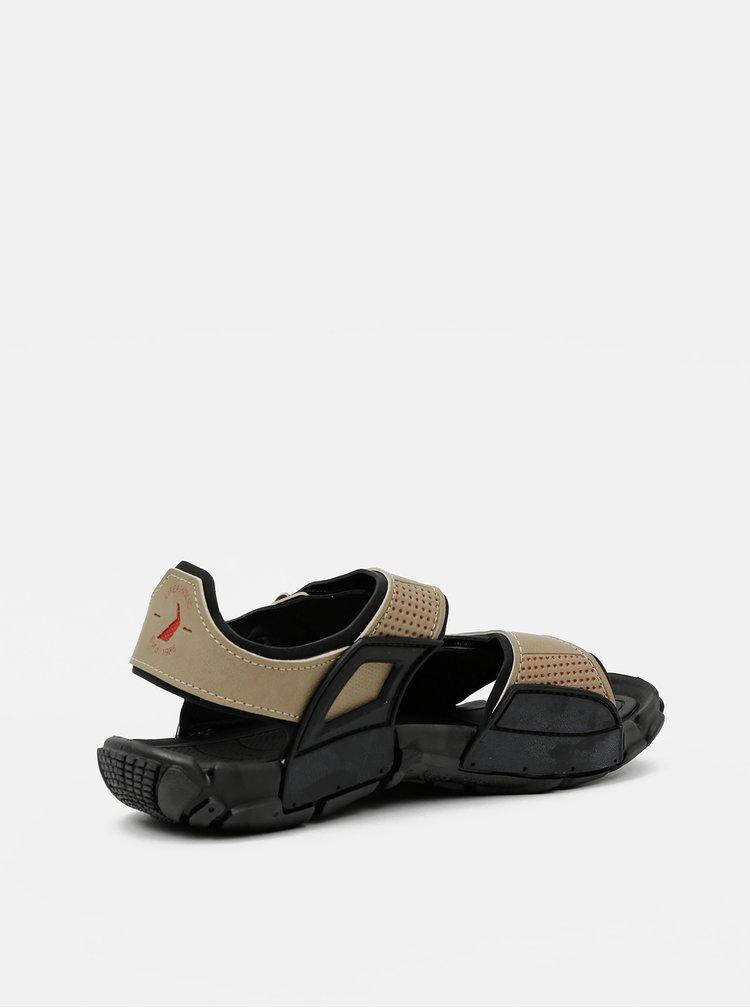 Béžové pánské sandály Rider