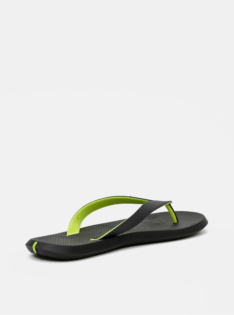 Sandale si slapi pentru barbati Rider - negru