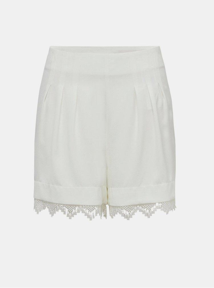 Pantaloni scurti  pentru femei Jacqueline de Yong - alb