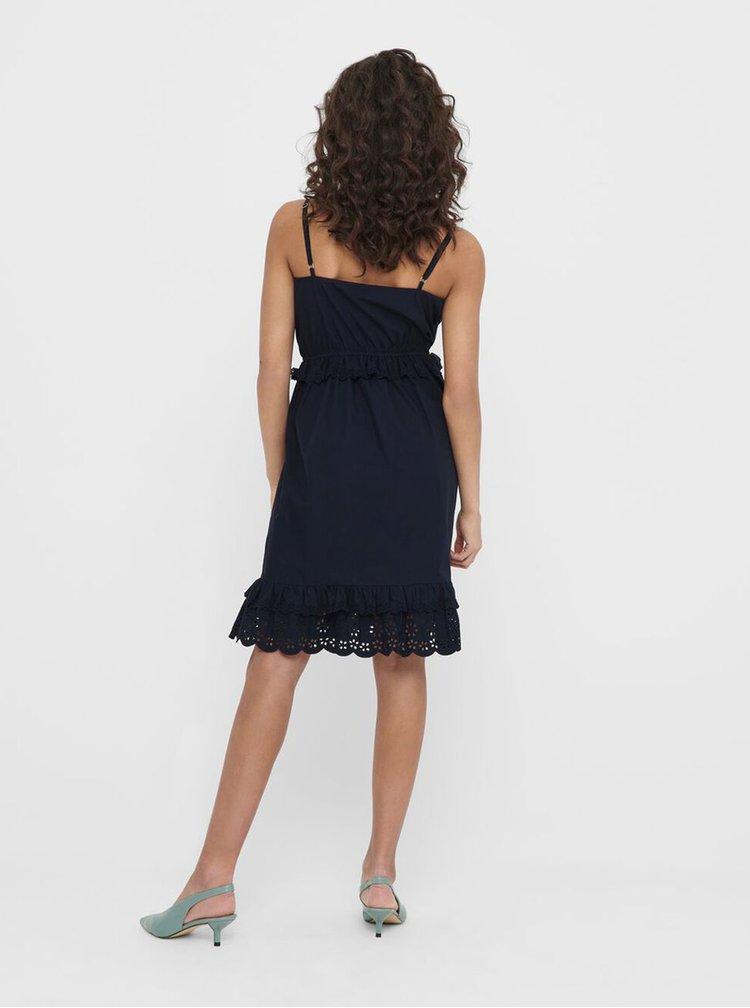 Tmavě modré šaty Jacqueline de Yong