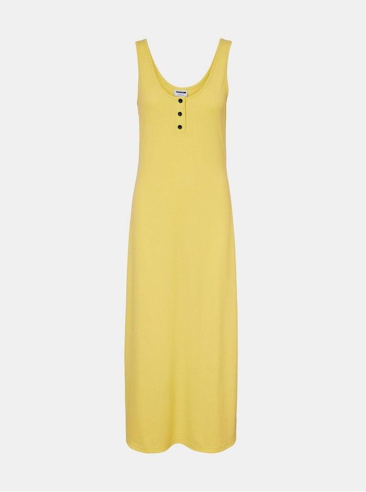 Rochii de vara si de plaja pentru femei Noisy May - galben