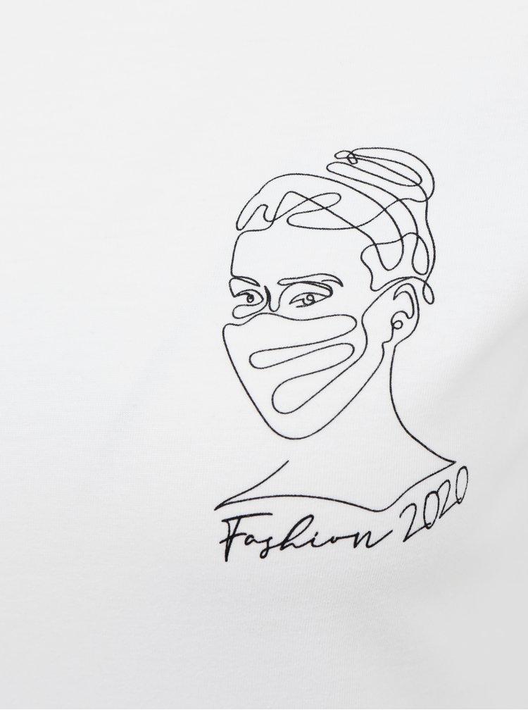 Bílé dámské tričko ZOOT Original Fashion 2020