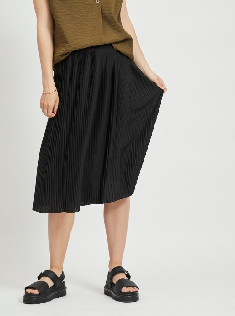 Černá plisovaná sukně VILA