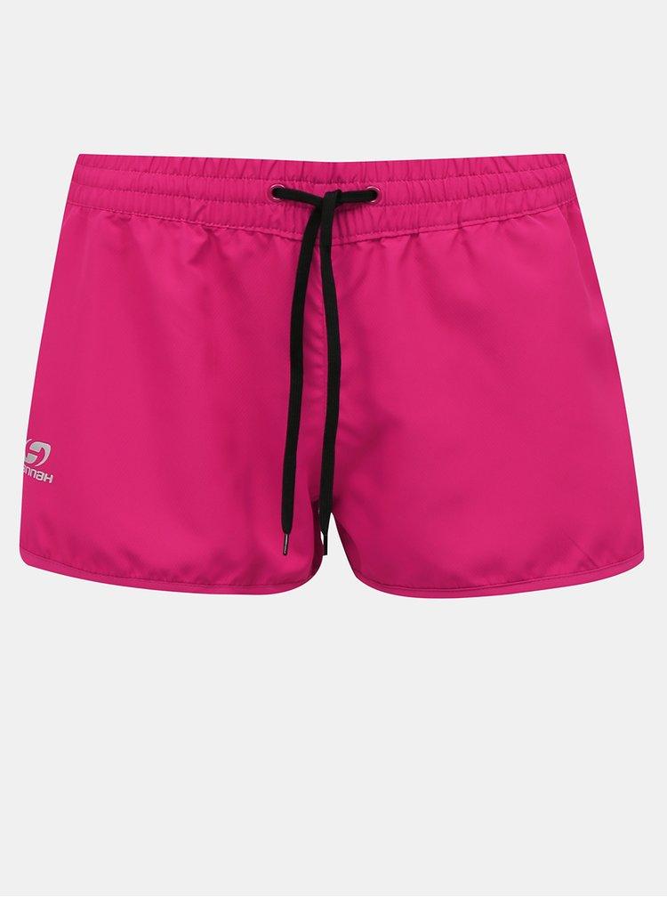 Růžové dámské funkční kraťasy Hannah Saloni