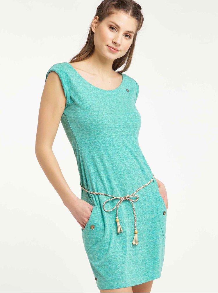 Světle zelené šaty Ragwear Tag