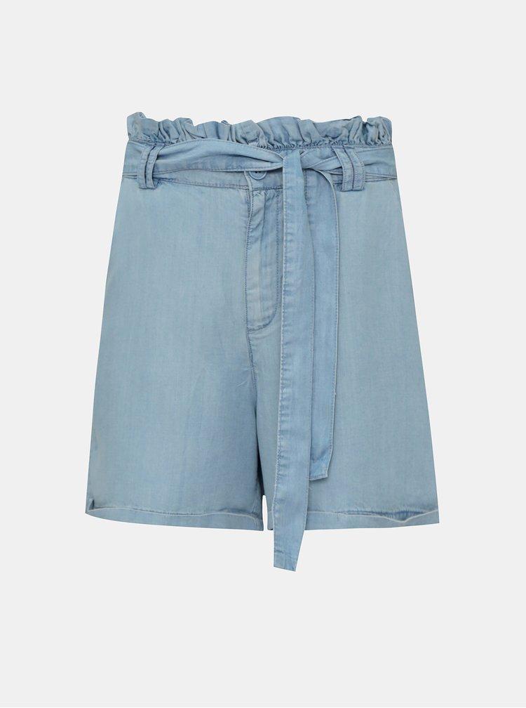 Pantaloni scurti  pentru femei Noisy May - albastru