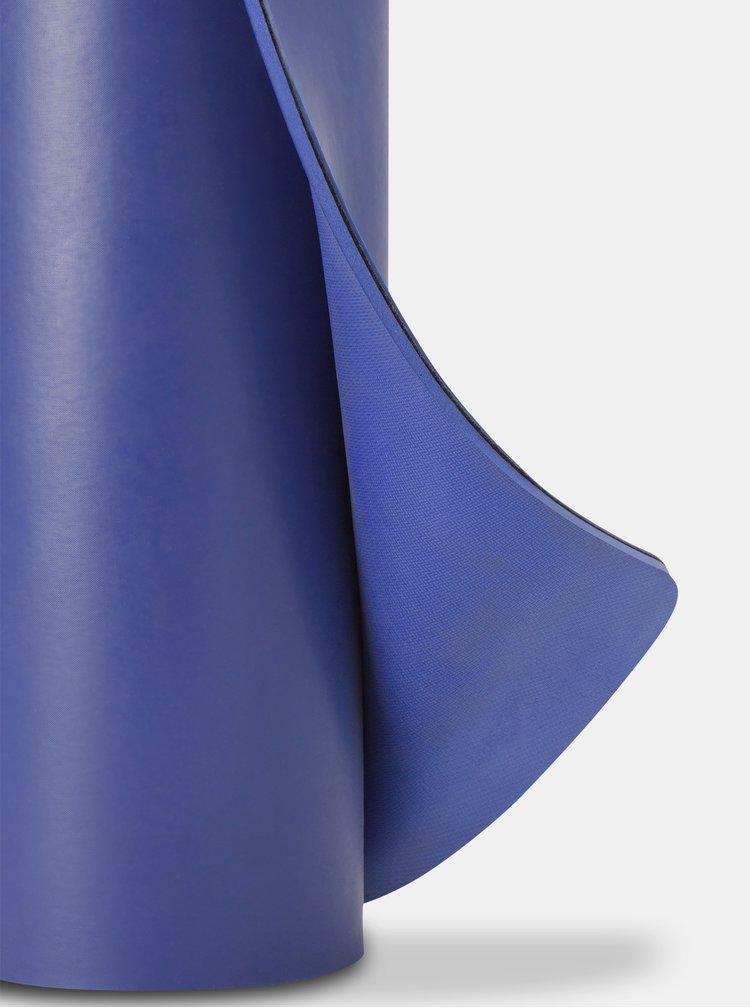 Tmavě modrá podložka na jógu prAna