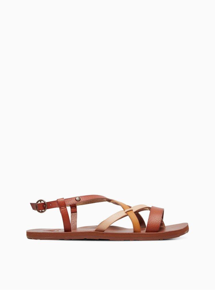 Hnědé sandály Roxy