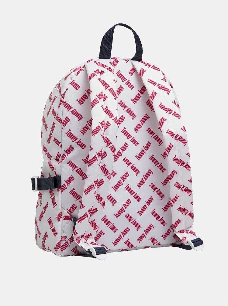 Bílý vzorovaný batoh Tommy Hilfiger