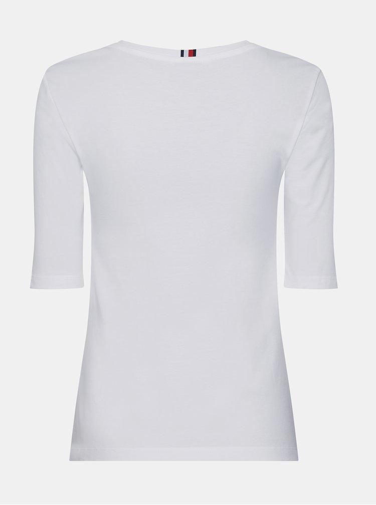 Bílé dámské basic tričko Tommy Hilfiger