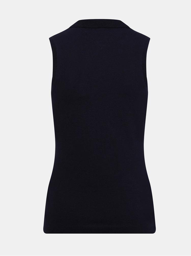 Topuri si tricouri pentru femei Tommy Hilfiger - albastru inchis