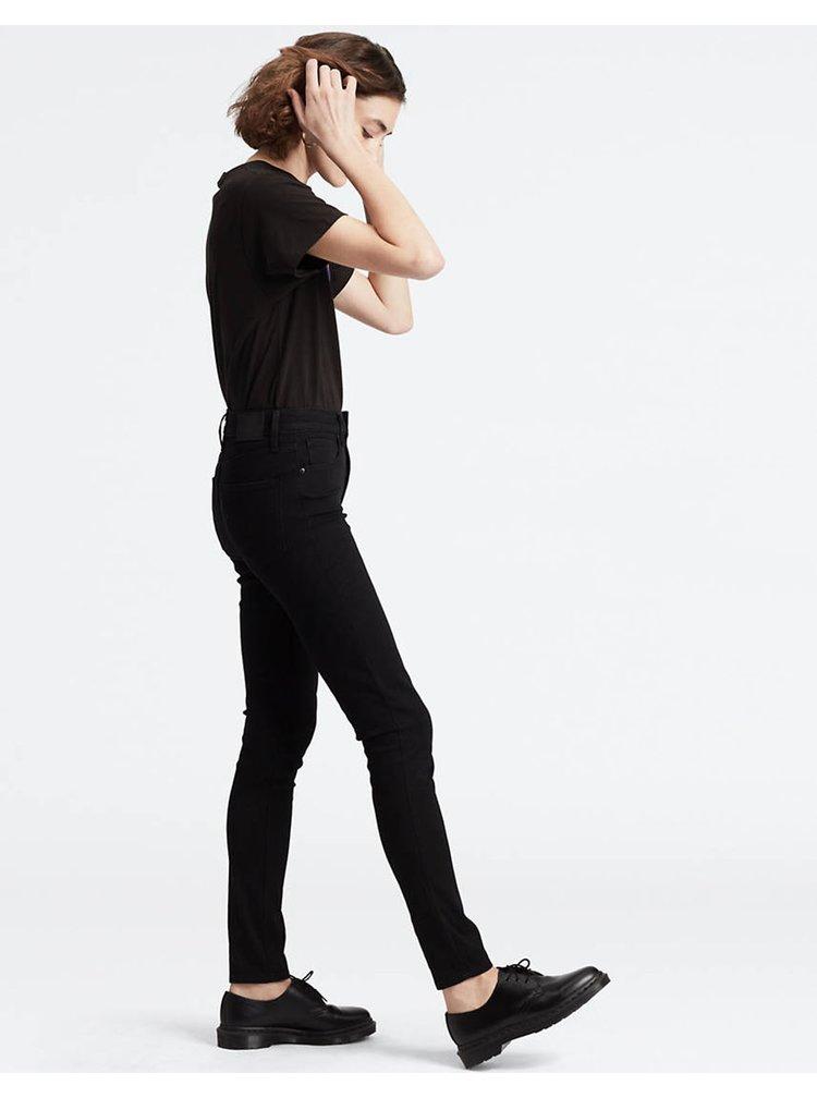 Černé dámské skinny fit džíny Levi's