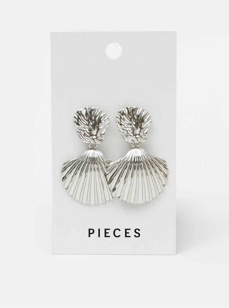 Náušnice ve stříbrné barvě Pieces Nancy