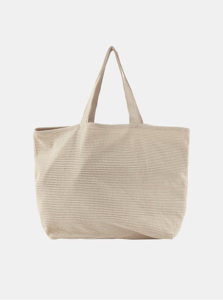 Béžová taška Pieces Nulle
