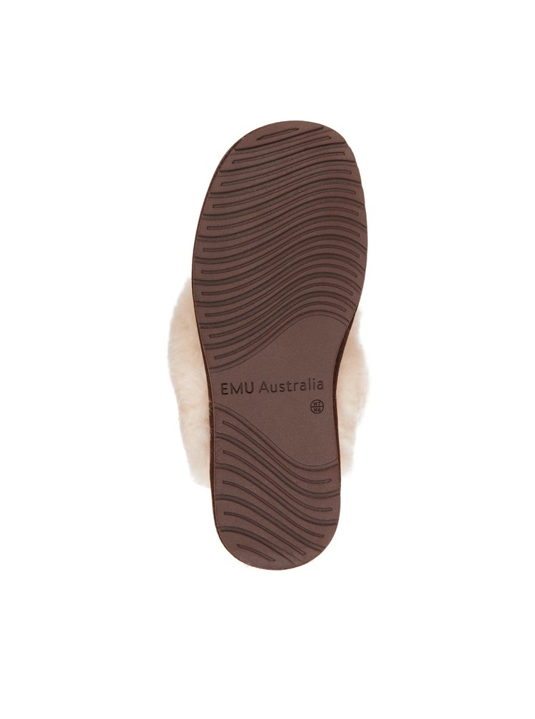 Emu bronzové pantofle Jolie Metallic Bronze/Bronze
