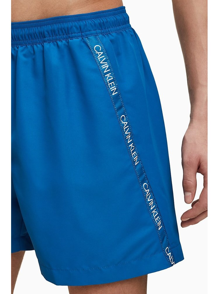 Calvin Klein modré pánské plavky Medium Drawstring