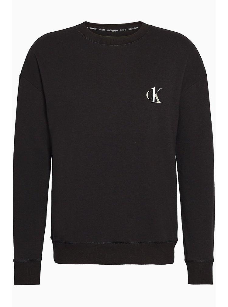 Calvin Klein černá pánská mikina L/S Sweatshirt
