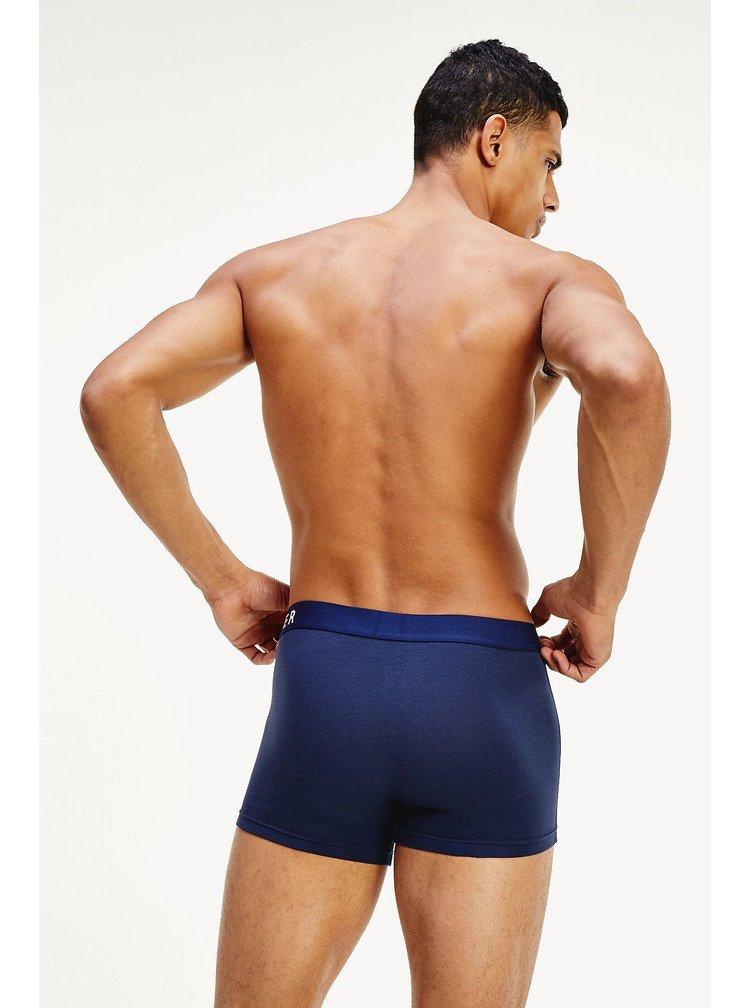 Tommy Hilfiger barevný 3 pack boxerek Navy Blazer/Cornflower blue/Cascade