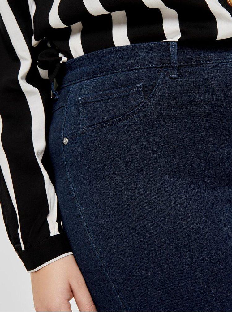 Marimi curvy pentru femei ONLY CARMAKOMA - albastru inchis