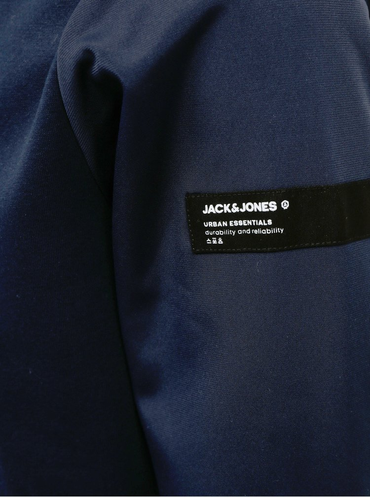 Tmavě modrá mikina Jack & Jones Tricot