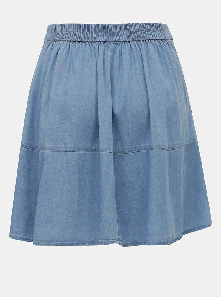 Modrá sukňa VILA Bista