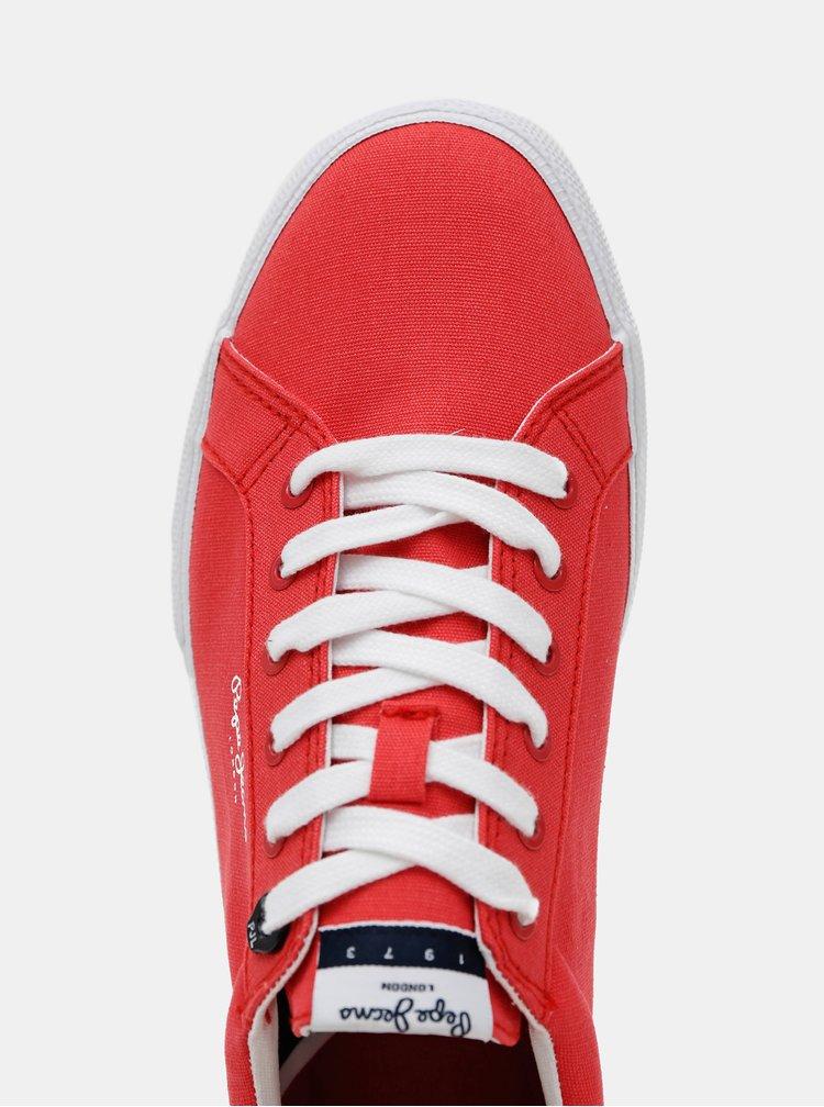Červené pánské tenisky Pepe Jeans